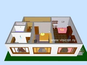 Дизайн проекты 1-комнатной квартиры
