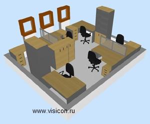 Дизайн офиса кабинета